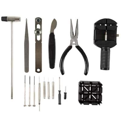 Professional Watch Jewelry Repair Tool Kit (16-Piece)