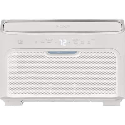 8,000 BTU Inverter Quiet Temp Smart Room Air Conditioner in White