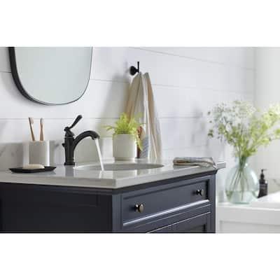 Elmhurst Single Hole Single-Handle Bathroom Faucet in Oil Rubbed Bronze