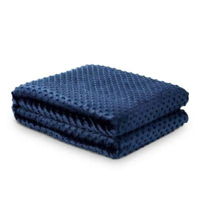 Eshe Navy Weighted Blanket 8 lbs. 48 in. x 72 in.