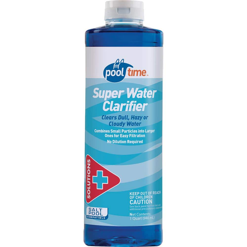 Pool Time 32 Oz Super Water Clarifier 23704ptm The Home Depot