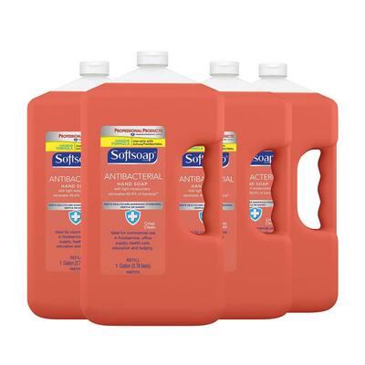 1 Gal. Crisp Clean Antibacterial Liquid Hand Soap Refill, 4/Carton