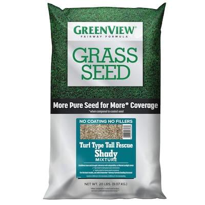 20 lbs. Fairway Formula Grass Seed Turf Type Tall Fescue Shady Mixture