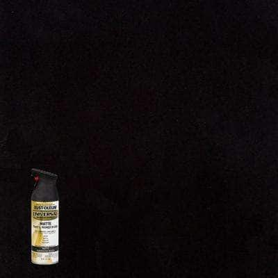 12 oz. All Surface Matte Black Spray Paint and Primer in One (6 Pack)