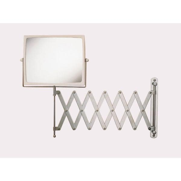 Wall Mount Hind Sight Makeup Mirror, Extra Large Wall Mounted Swivel Mirror