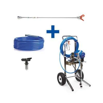 Pro 210ES Cart Airless Paint Sprayer with 20 in. Extension, 50 ft. Hose and TRU621 Spray Tip