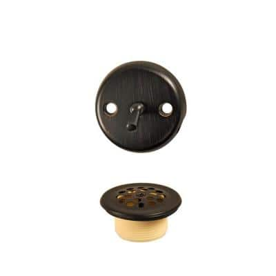 Trip Lever Bath Tub Drain and Overflow Trim Kit in Oil Rubbed Bronze