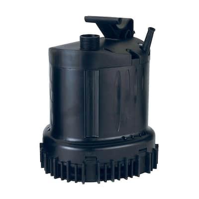 2100-GPH Submersible Waterfall/Utility Pump