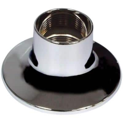 S60-160A 2-1/2 in. O.D. Zinc Die-Cast Flange for Widespread Lavatory Faucets in Chrome
