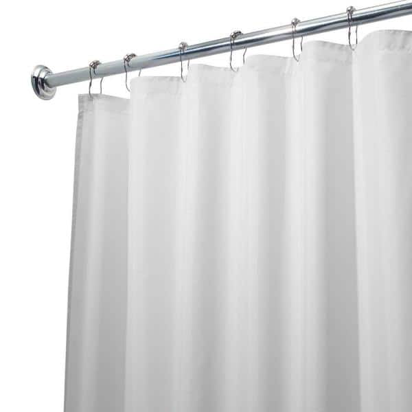 Interdesign Poly Waterproof Stall Size, What Size Shower Curtain Liner Do I Need