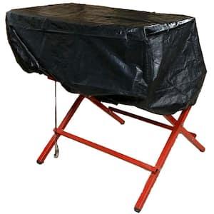63 in. x 45 in. x 19 in. Rust Preventative Table Saw Cover