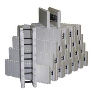 4.2 lbs. 40 in. L x 12.5 in. H x 12 in. W Insulated Concrete Forms (Bundle of 20)