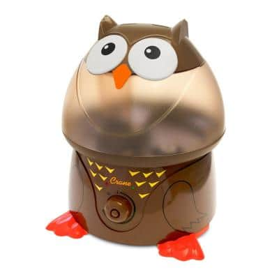 1 Gal. Adorable Ultrasonic Cool Mist Humidifier for Medium to Large Rooms up to 500 sq. ft. - Owl