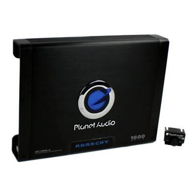 AC1600.4 1600W 4 Channel Car Amplifier Power Amp+Remote AC16004