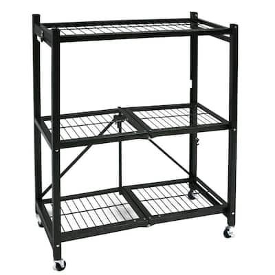3-Tier Garage Storage Shelving Unit (29 in. W x 35 in. H x 13 in. D)