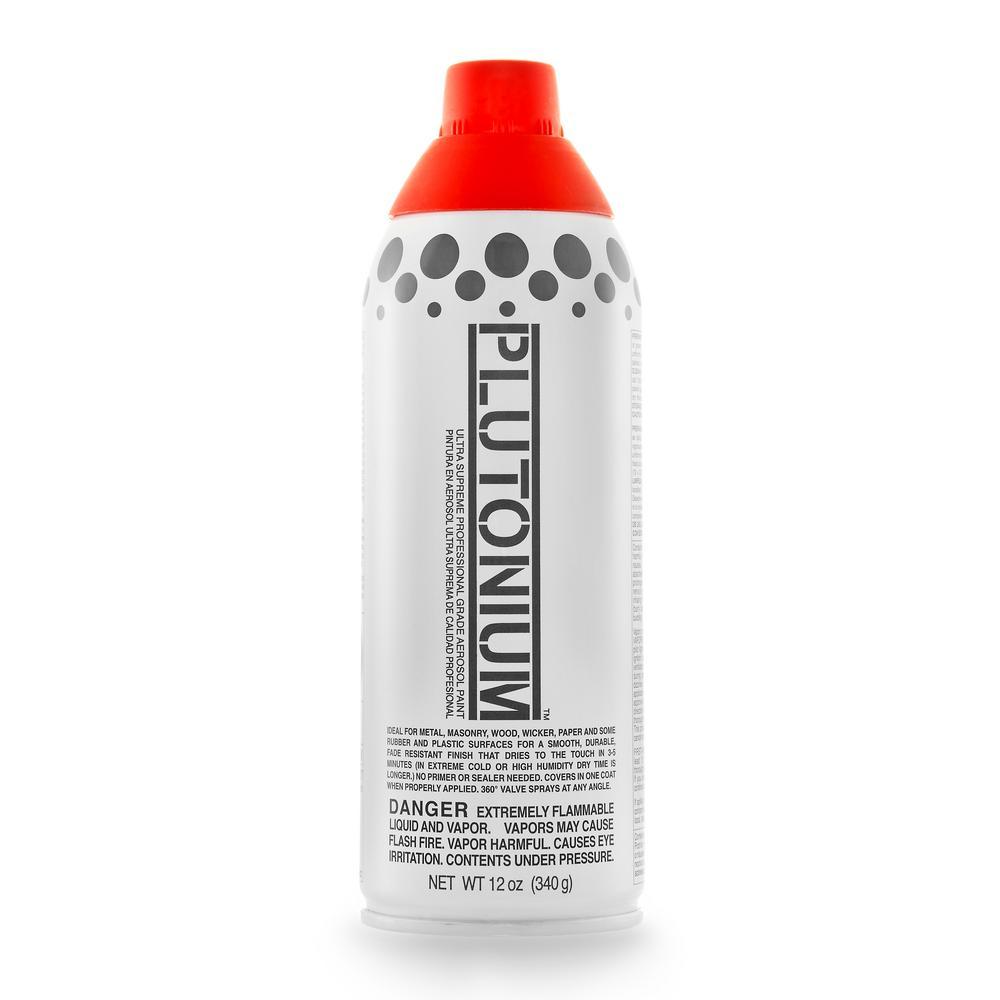 12 oz.. Red Alert Spray Paint