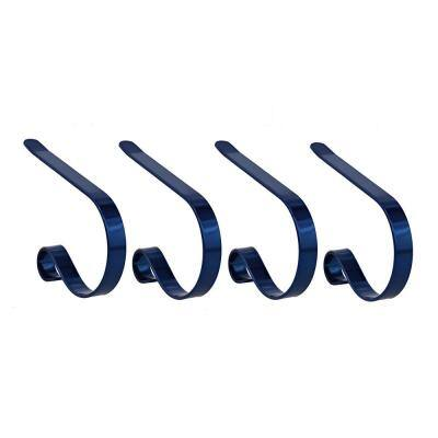 Original MantleClip Blue Stocking Holder (4-Pack)