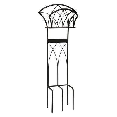 Steel Decorative Garden Hose Stand with Gothic Design