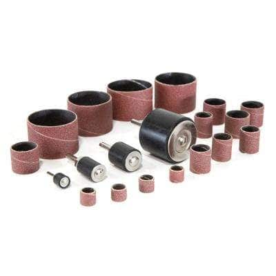 Sanding Drum Kit for Drill Presses and Power Drills (20-Piece)