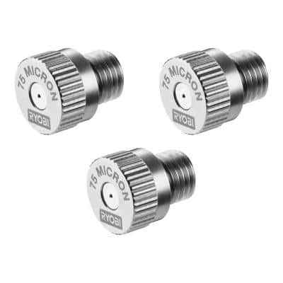 Electrostatic Sprayer 75 Micron Replacement Nozzle (3-Pack)