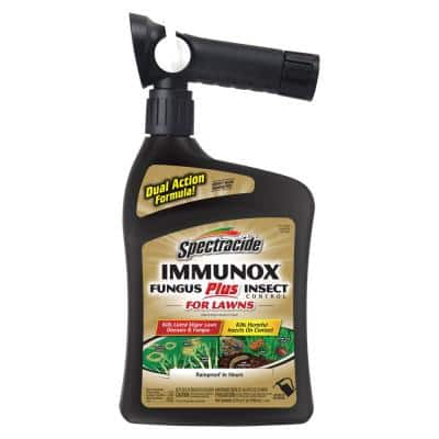 Immunox 32 fl. oz. Ready-to-Spray Concentrate Fungus Plus Insect Control for Lawns