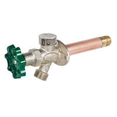 4 in. Full turn frost proof wall hydrant, 1/2 in. MIP x 1/2 in. SWT