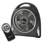 Blizzard 12 in. Power Floor Fan with Remote Control