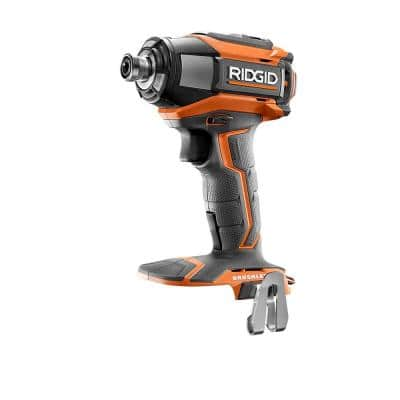 18-Volt Lithium-Ion Cordless Brushless 1/4 in. 3-Speed Impact Driver with Belt Clip (Tool Only)