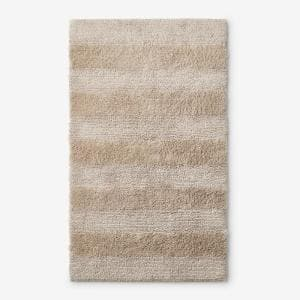 Company Cotton Jute 17 in. x 24 in. Reversible Bath Rug