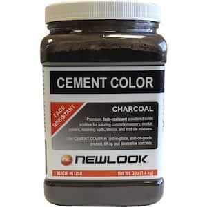 3 lb. Charcoal Fade Resistant Cement Color