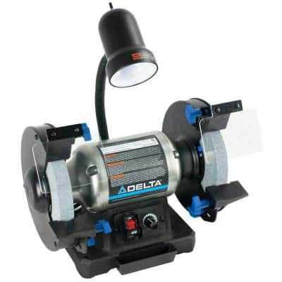 8 in. Variable Speed Bench Grinder