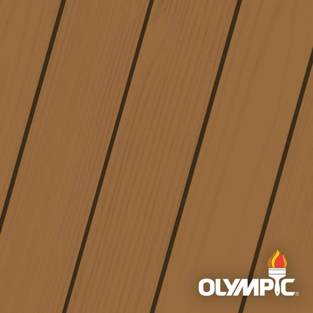 Olympic Maximum 1 Gal Timberline Solid Color Exterior Stain And Sealant In One Oly335 01 The Home Depot
