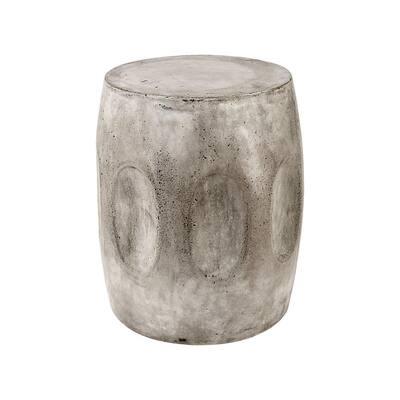 Woltran Waxed Concrete End Table