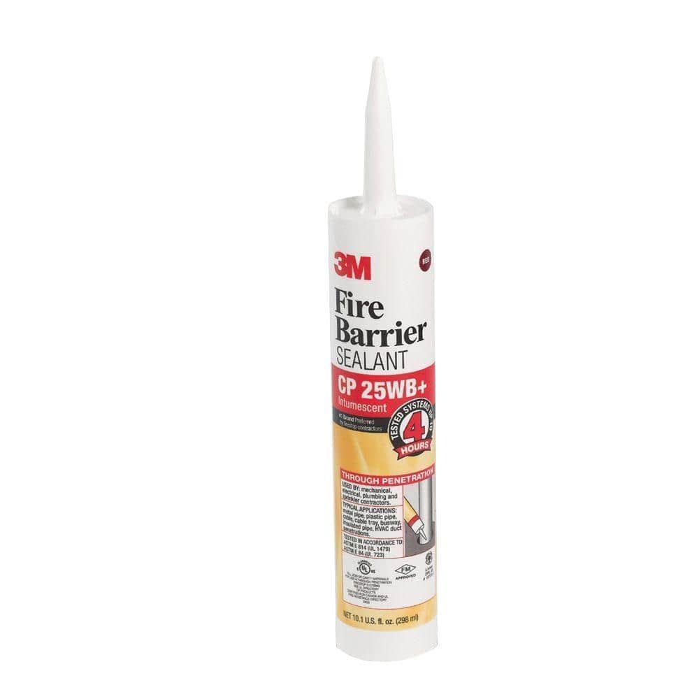 3M 10.1 fl. oz. Red Fire Barrier CP 25WB Plus Sealant