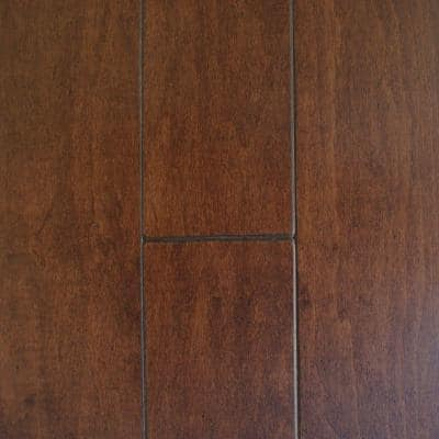 Take Home Sample - Antique Maple Cacao Engineered Hardwood Flooring - 5 in. x 7 in.