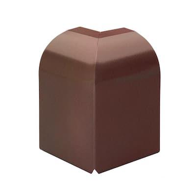 Fine/Line 30 Decor Series 90 Degree Outside Corner for Baseboard Heaters in Rubbed Bronze