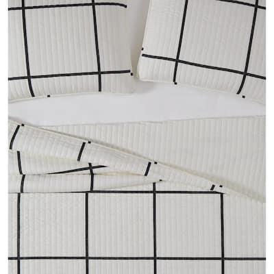 Kurt Windowpane Quilt Set