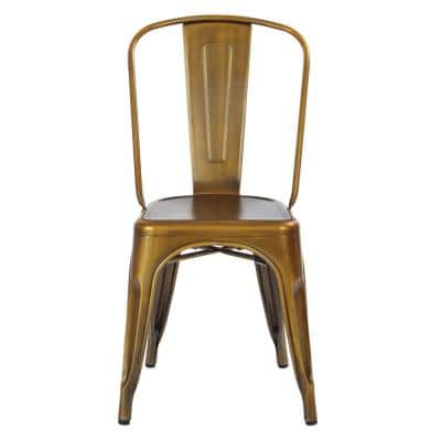 Bronze Dining Chairs Kitchen Dining Room Furniture The Home Depot