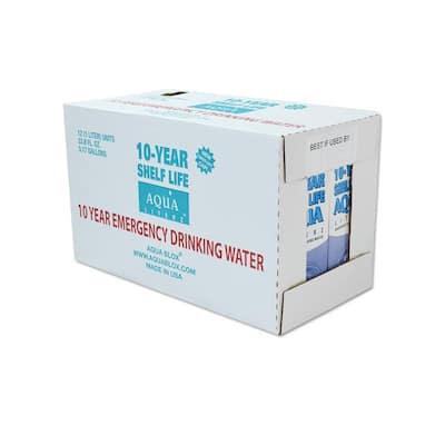 10-Year Shelf Life Aqua Literz 1 l (12-Pack)