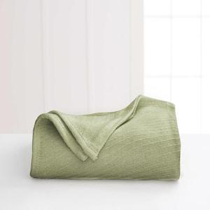 Cotton Sage Cotton Twin Blanket