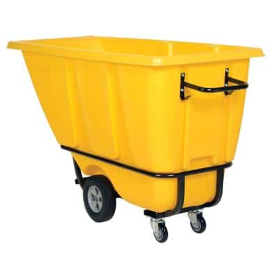 1/2 cu. yds. Heavy Duty Tilt Truck - Yellow