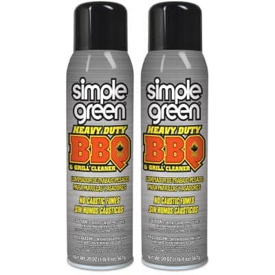 Heavy-Duty Aerosol BBQ and Grill Cleaner (2-Pack)