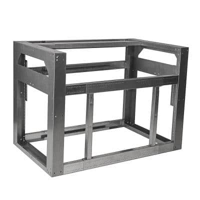 Standard Grill Module 28- 48 in. Adjustable Outdoor Kitchen Framing Module for Drop-In Grill in Galvanized Steel
