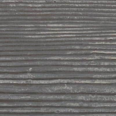 SAMPLE - 1 in. x 6 in. x 6 in. Aged Cedar Polyurethane Sandblasted Faux Wood Moulding