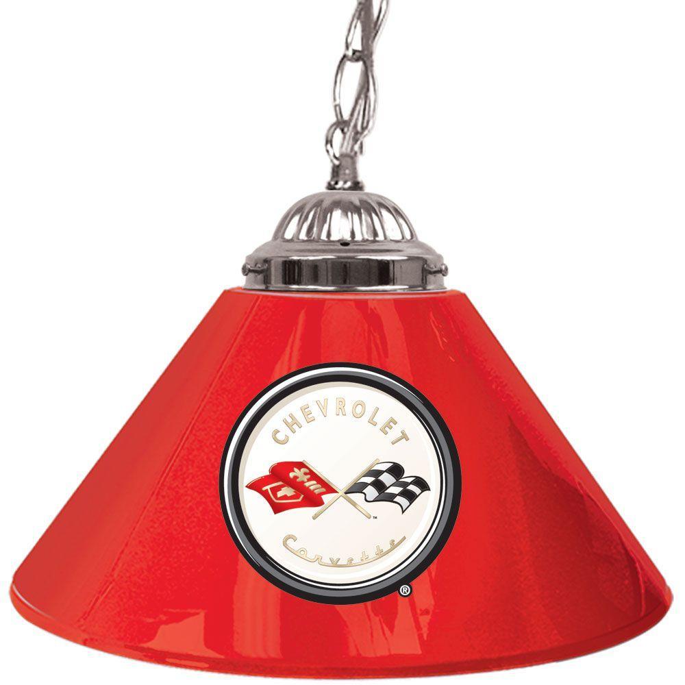 Corvette C1 Red Hanging Lamp