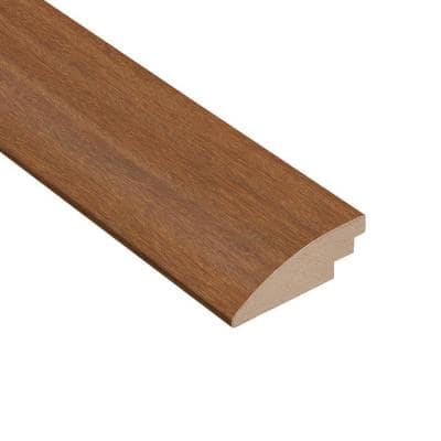 Matte Cumaru Tropic 1/2 in. Thick x 2 in. Wide x 78 in. Length Hard Surface Reducer Molding