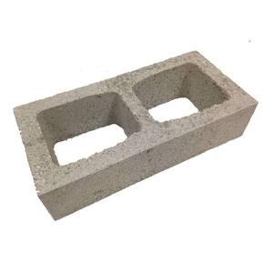 8 in. x 4 in. x 16 in. Concrete Half-High Block