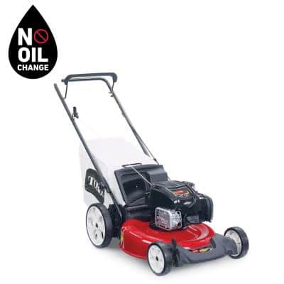 Recycler 21 in. Briggs and Stratton High-Wheel Gas Walk Behind Push Mower