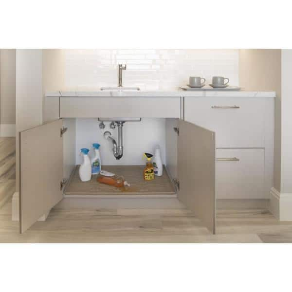 Xtreme Mats 28 In X 22 Beige, Under The Sink Cabinet