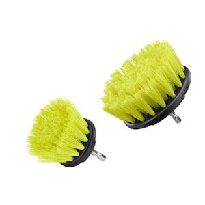 Medium Bristle Brush Cleaning Accessory Kit (2-Piece)